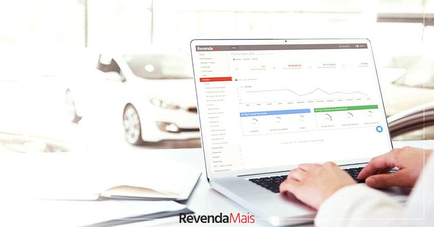 Software de Gestão para lojas de veículos
