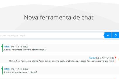 [Novidade] Ferramenta de chat para comunicação interna