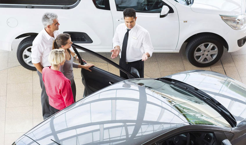oratória nas vendas de automóveis