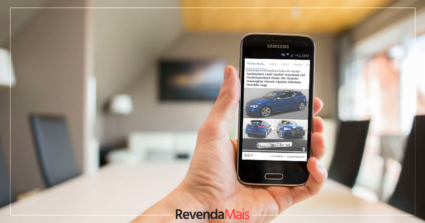como vender carros no facebook