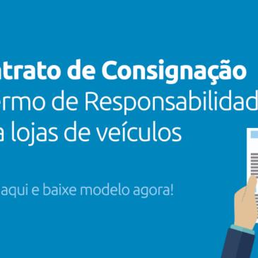 Contrato de Consignação para Venda de Veículo com Termo de Responsabilidade