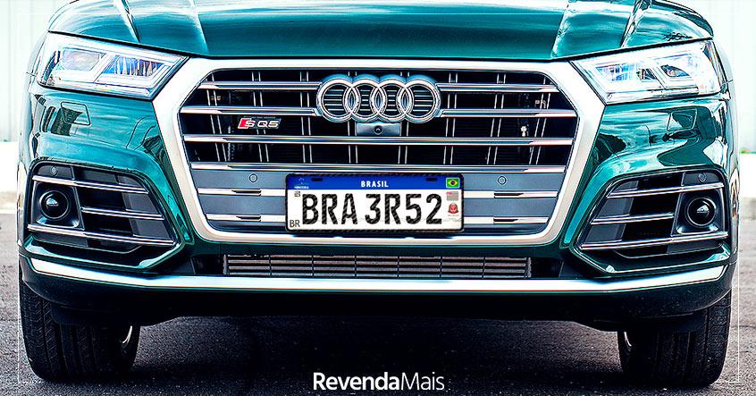 Novos modelos de placas de veículos brasileiros