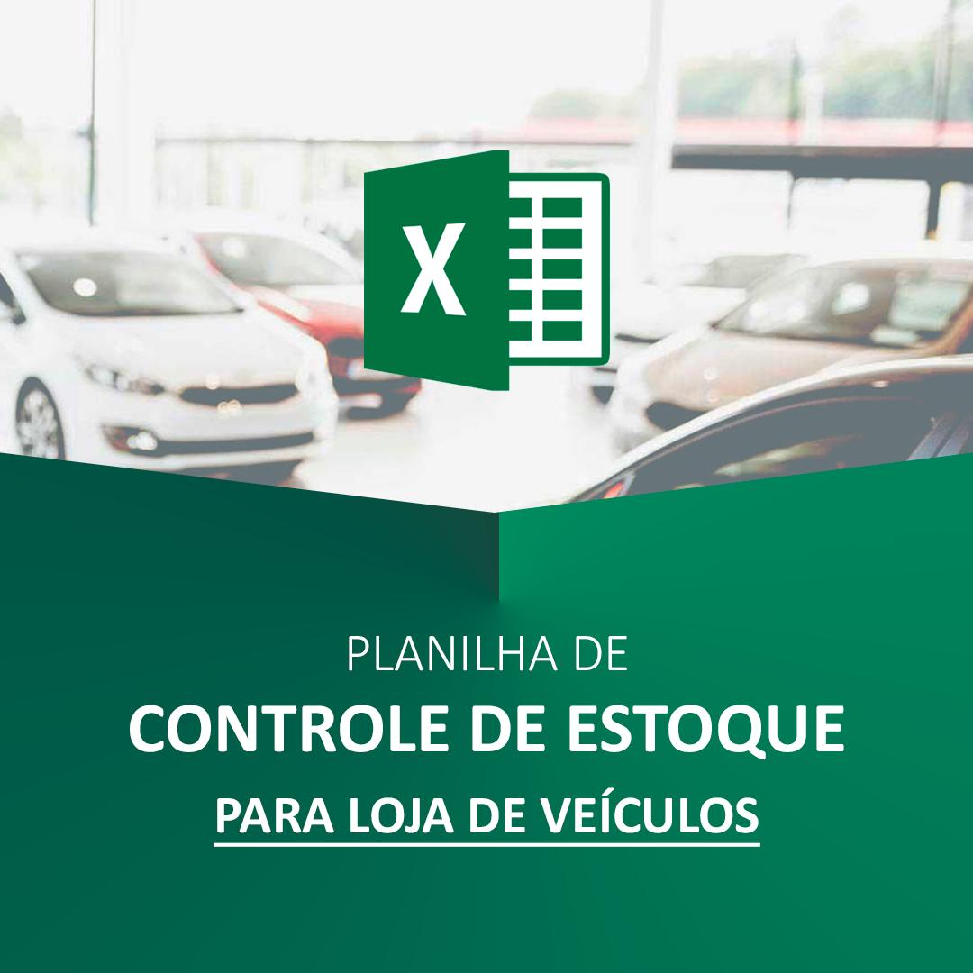 Planilha de Controle de Estoque de Veículos